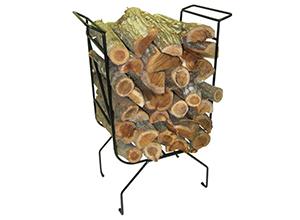 3fireplace log stand