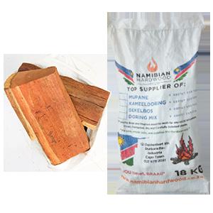 namibian hardwood big logs braai wood