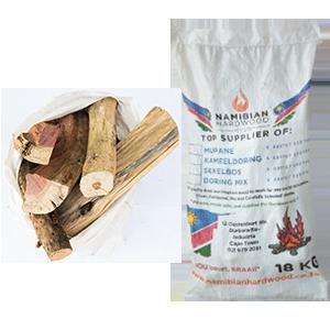 namibian hardwood doring mix braai wood