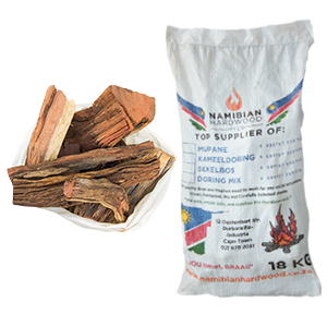 namibian hardwood short pieces braai wood