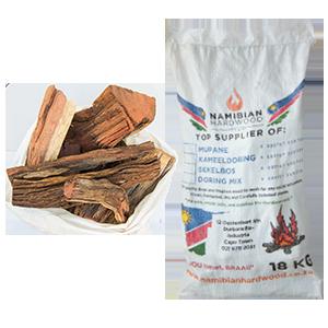 namibian hardwood short pieces braai wood