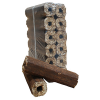hardwood eco logs