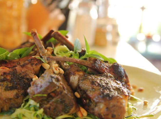 Pesto-lamb-chops