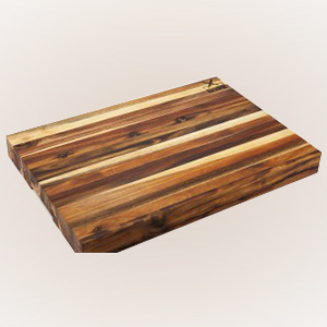 namibian hardwood butchers block medium