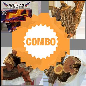 namibian hardwood camelthorn siclewood rooikrans combo