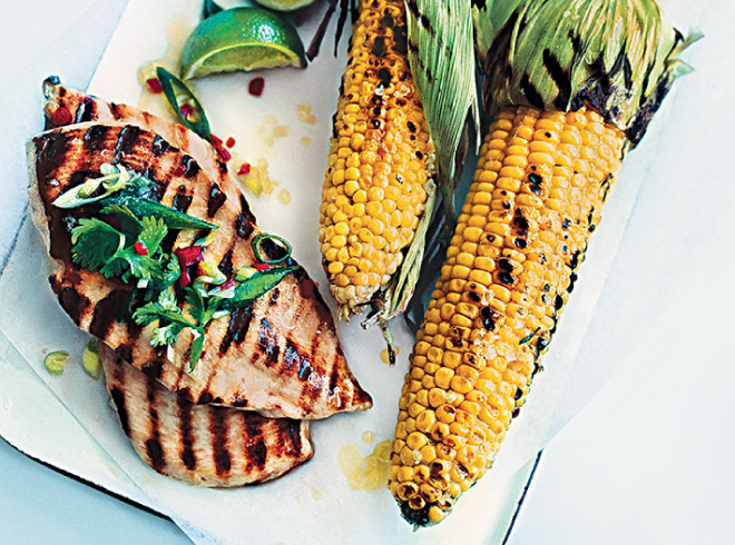Millie / Sweetcorn and chicken recipe